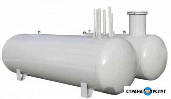Изготовление газгольдеров и резервуаров суг Омск