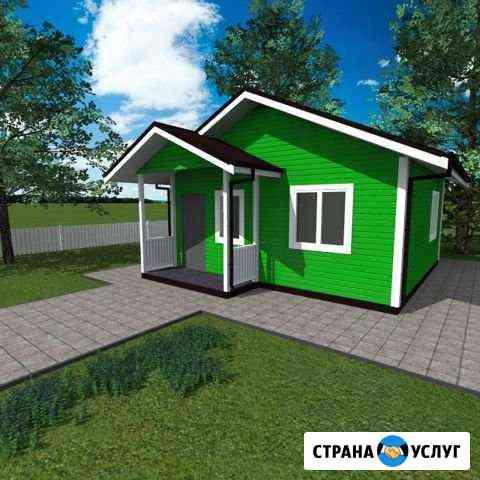 Строительство каркасного дома Иркутск