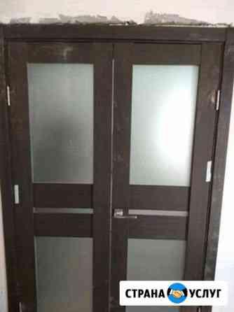 Профессиональная установка межкомнатных дверей Астрахань