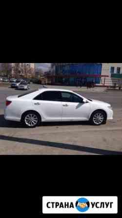Прокат с водителем Тойота Камри 2014 г.в Омск