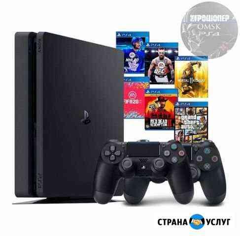 Прокат Sony PS4 аренда Одни из нас 2 Омск