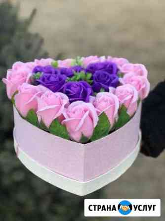 Букеты из мыльных роз Астрахань