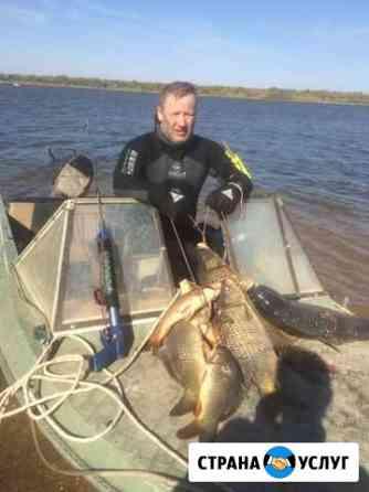 Рыбалка в Астрахани Тамбовка
