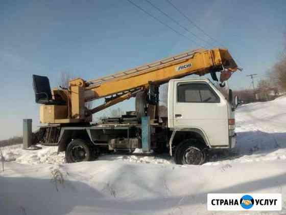Услуги ямобура 4вд Иркутск