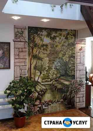 Художник. Роспись стен. Рисую на стенах Омск